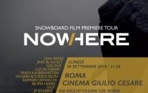 Absinthe crew a Roma per la premiere di NowHere